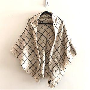 Giant Zara blanket scarf - square